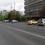 Placené parkování města na ulici Hradební 1