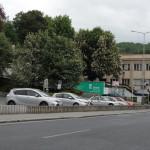 Placené parkování města na ulici Hradební 3